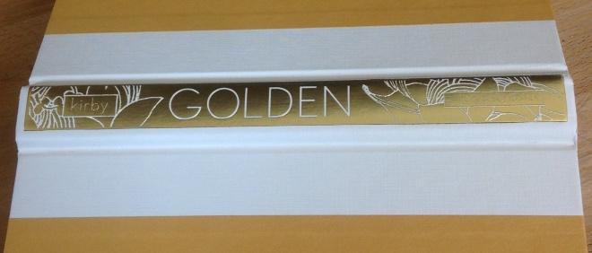 Golden's beautiful raised spine.