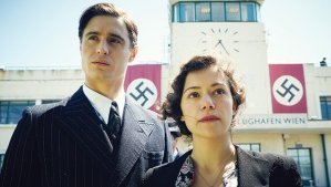 Max Irons as an Austrian Opera singer and Tatiana Maslany (the 'younger' Maria) were wonderful together.